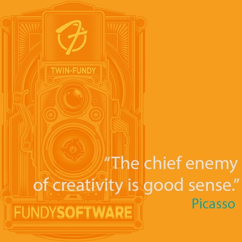 Quote From Painter Pablo Picasso Camera Art Is Fundy Software