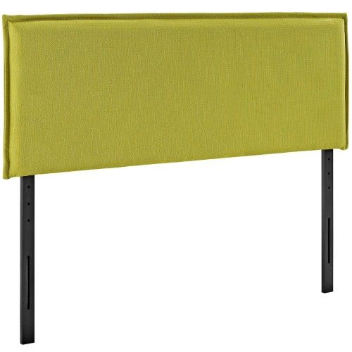 Best Modway Camille Upholstered Headboard Green Platform Bed 400 x 300