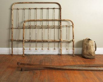 Cast Iron Three Quarter Size Bed Frame Furniture Pinterest