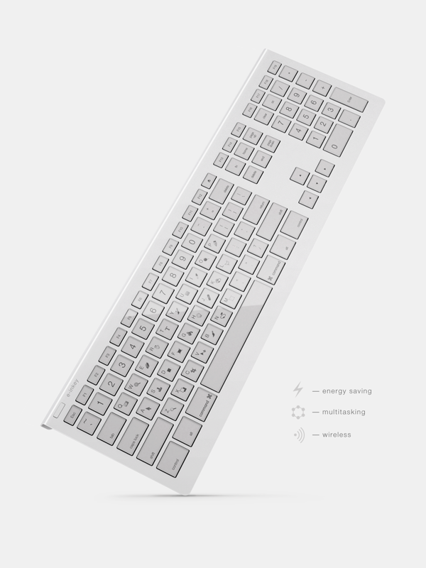 E Inkey Dynamic Keyboard Displays Keyboard Shortcuts Keyboard Mac Accessories Concept