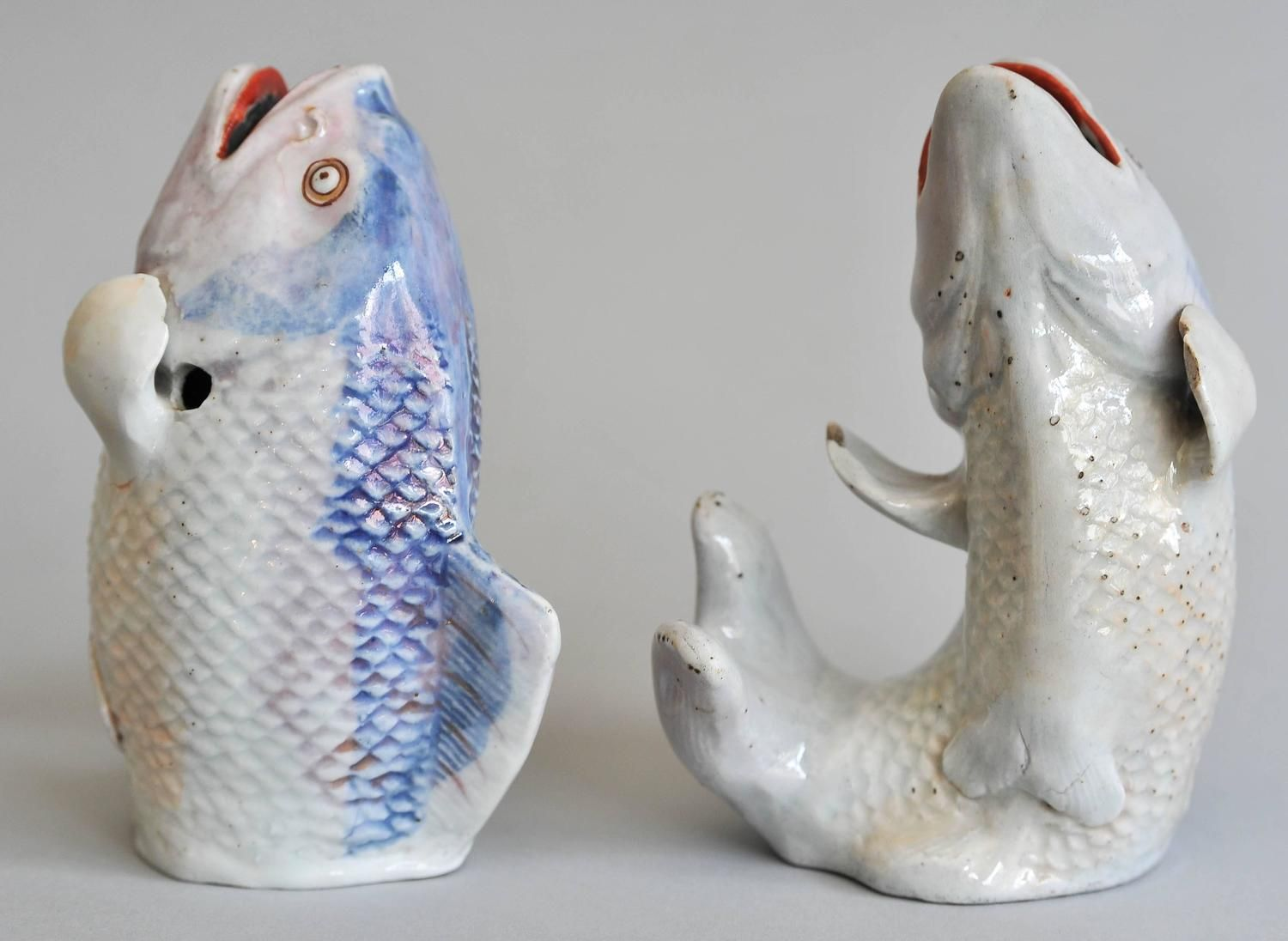 Early 18th Century Pair of Japanese Arita Model of a