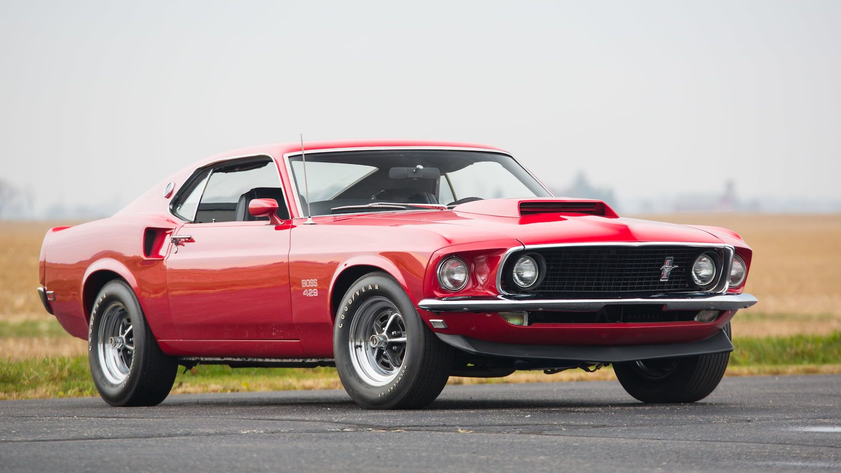1969 Ford Mustang Boss 429 Fastback Presented As Lot S132 At