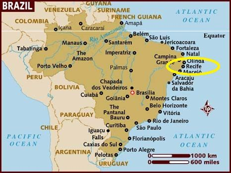 map of brazil around Recife Yahoo Image Search Results Beautiful