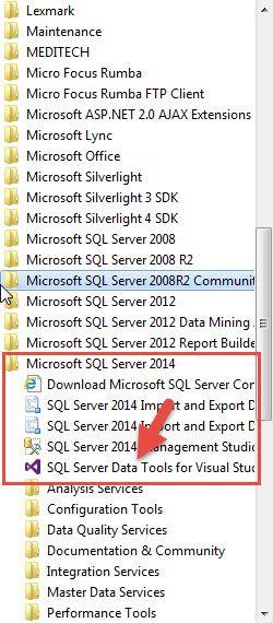 SQL Server Data Tools (SSDT) is Missing After Installing SQL