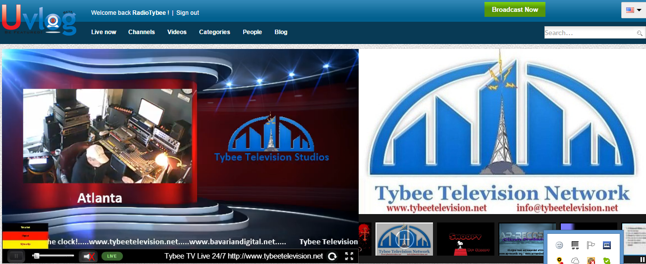 Tybee TV Featured On Uvlog 1.10.15