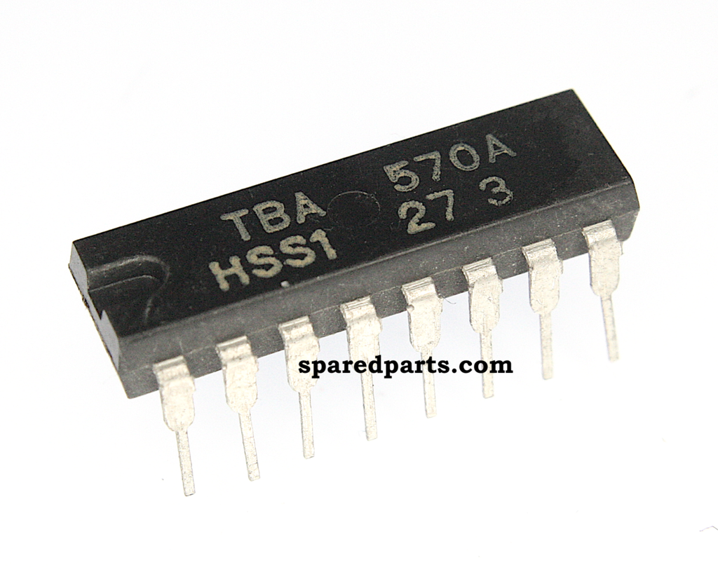 Tba570a Integrated Circuit Case Dip 16 Intergrated Circuits Ic An