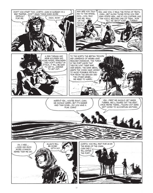 Corto Maltese: The Ethiopian | ComicS | Maltese, Story