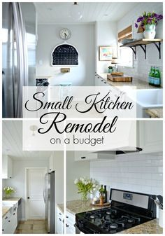 Small Kitchen Renovations On A Budget a small kitchen diy remodel, done on a budget. | chatfieldcourt