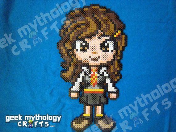 pixel art hermione