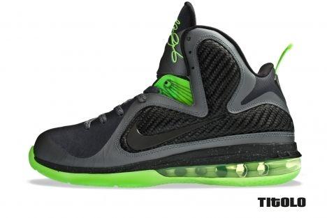 best sneakers afddd 2c592 Nike Lebron 9 Dunkman