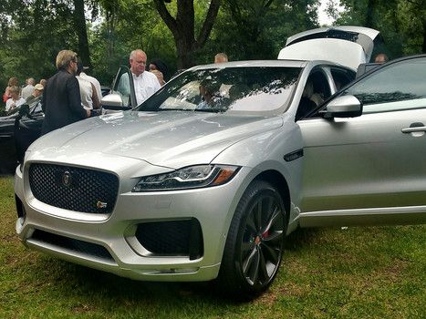 2017 Jaguar F-Pace S First Edition In Rhodium Silver Metallic Revealed At  Umlauf Sculpture