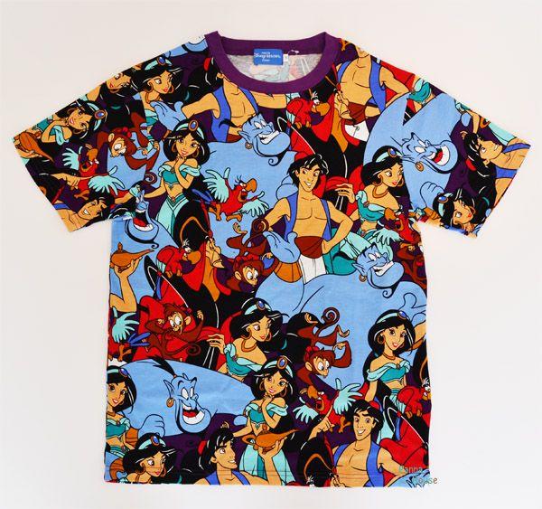 a84a75554 Aladdin ☆ Genie ◎ unisex t-shirt ☆ ♪ adult ☆ S-L-Tokyo Disney Resort  limited Aladdin T-shirt S M L Limited in Tokyo Disney Resort