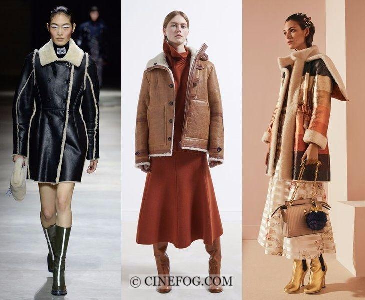 Outerwear Fall-Winter 2017-2018 Fashion Trends: shearling ...