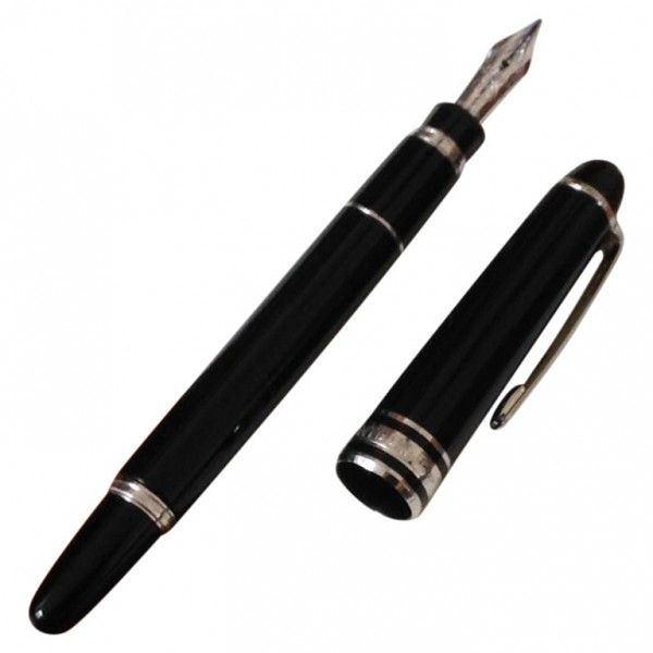 Mont Black Fountain Pen Meisters Montblanc 379 Liked On Polyvore Featuring Home Home Decor Office Accessories Fillers Fountain Pen Beautiful Pen Pen