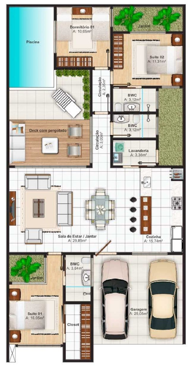 Best 25 plan maison 100m2 ideas on pinterest plan de maison 100m2 maison plain pied and plan maison plain pied