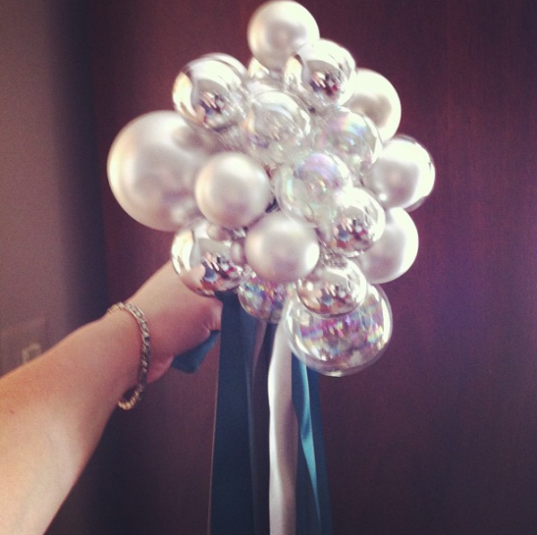 Составление свадебный букет шаров, дешевле