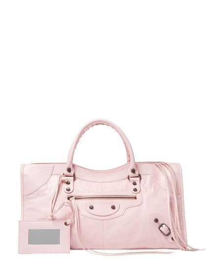 Classic Part Time Arena Lambskin Leather Satchel