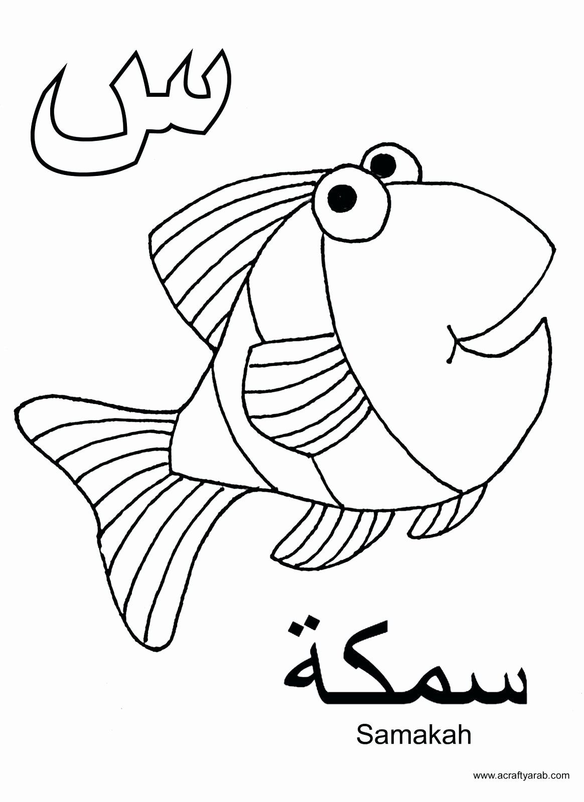 Arabic Letters Coloring Sheets Beautiful Claas Ares Colouring