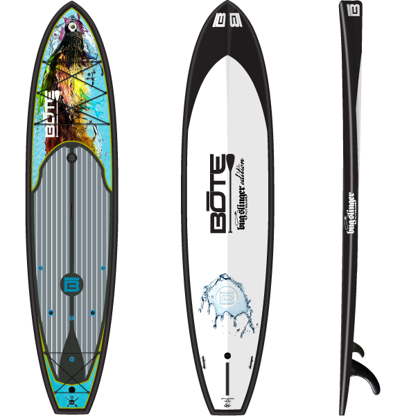 Bote Hd 10 Foot 6 Inch Bugslinger Pro Fishing Sup Standup Paddle Paddle Board Fishing Surfing