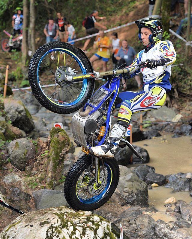 Sherco Trials Bike In The Italian GP