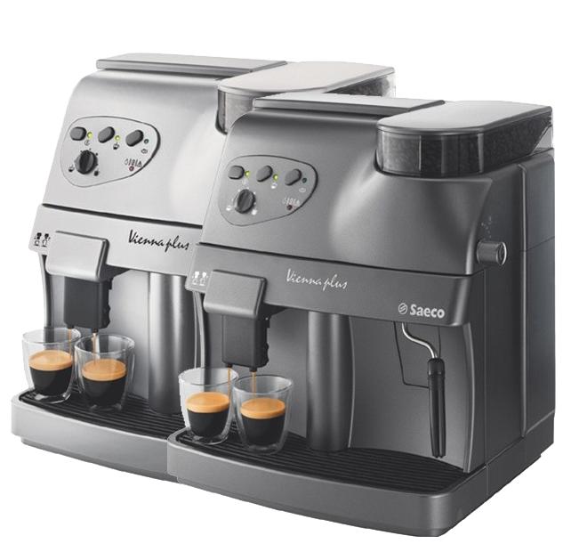 The Saeco Vienna Plus Superautomatic Espresso Machine