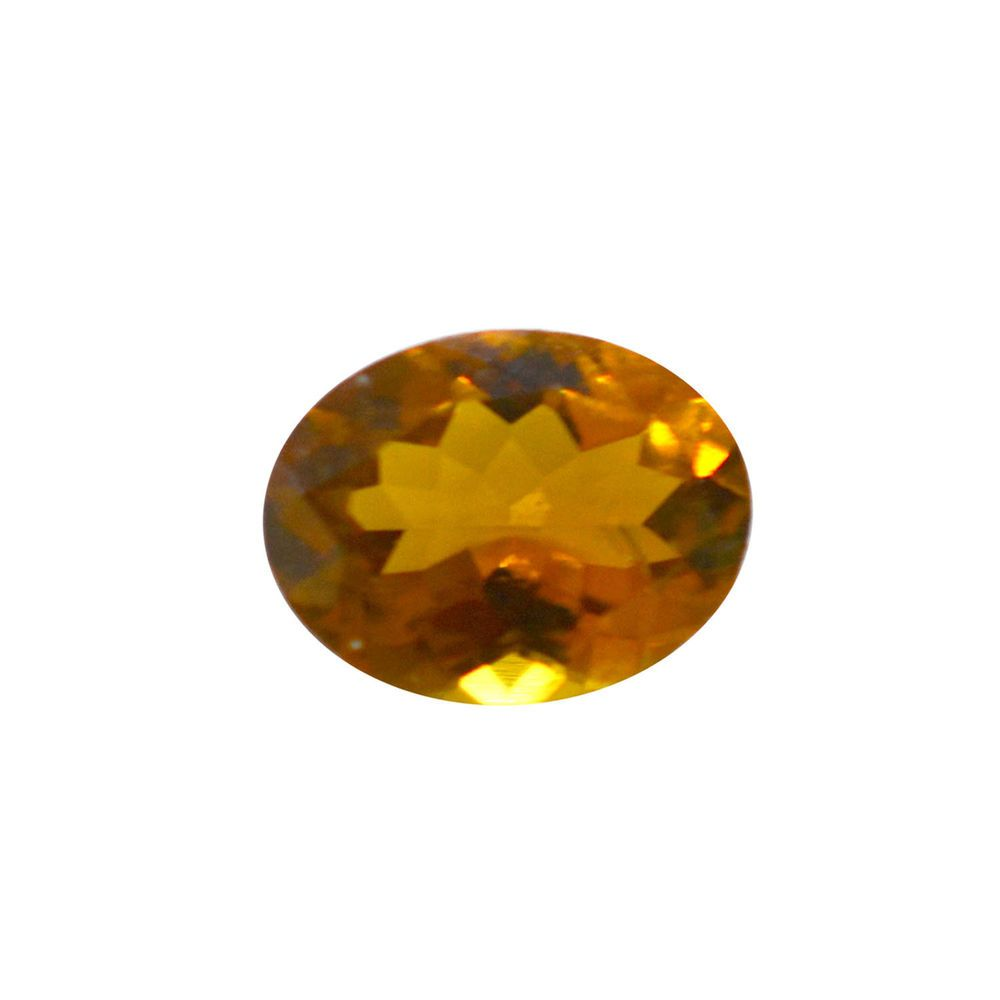 Nature Tourmaline Certified 1.10 cts Beautiful Oval 6x8 mm Orange Gemstone 2195 #SilkStocking