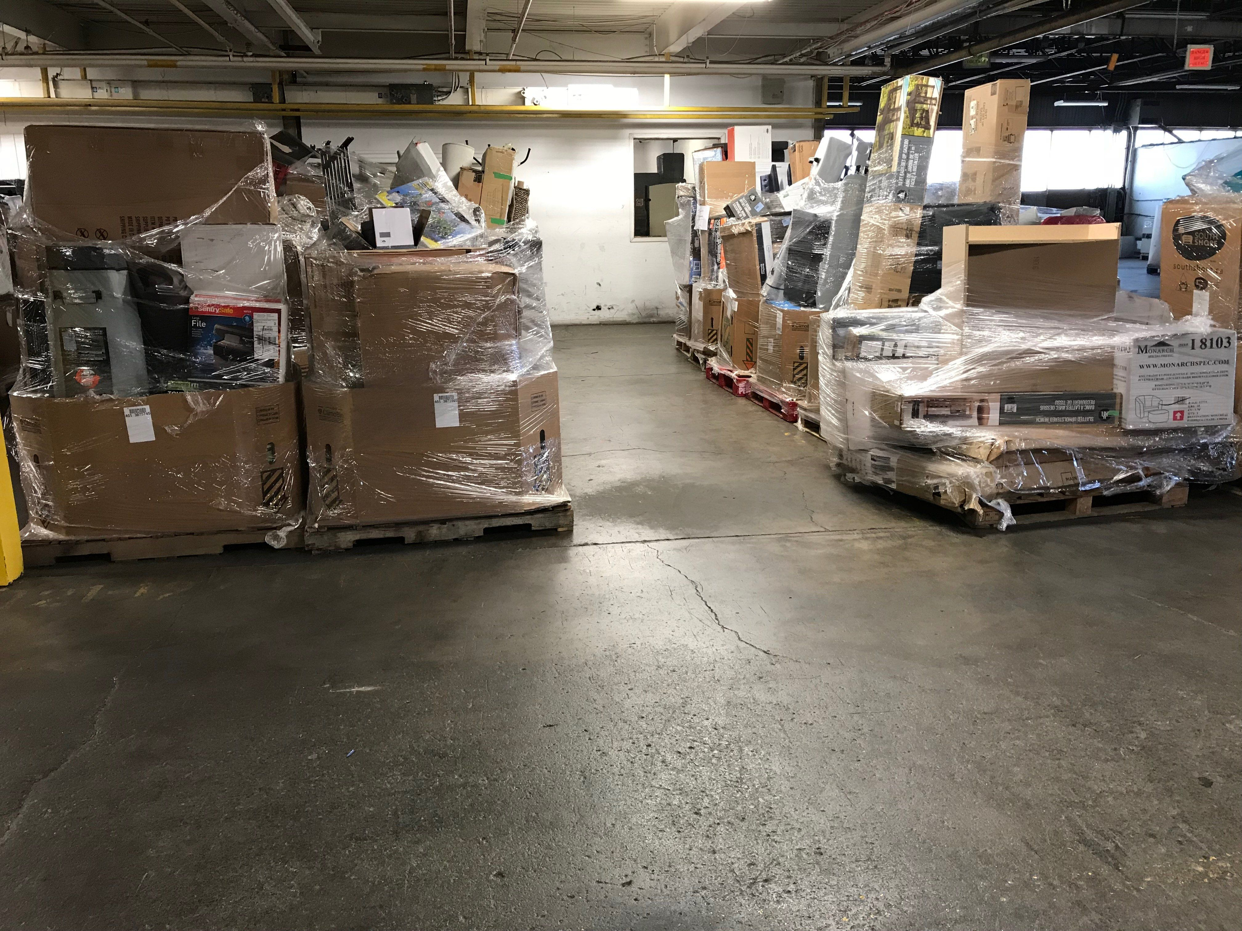 Cheap Loads - Only 3 Available   Liquidation Pallets