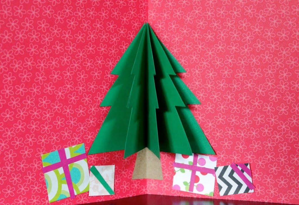 nuestro mundo creativo arbol de navidad tarjeta Navidad