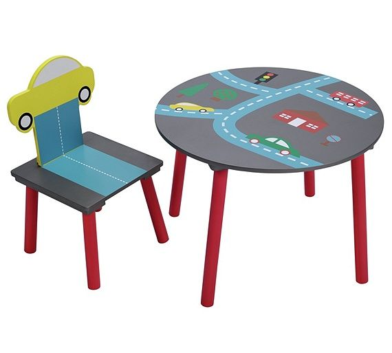 Buy Cars Motif Kids Table And Chairs At Argos.co.uk, Visit Argos