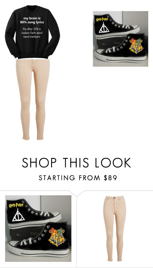 """MEEEH"" by paigebrite on Polyvore featuring Converse, women's clothing, women's fashion, women, female, woman, misses and juniors"