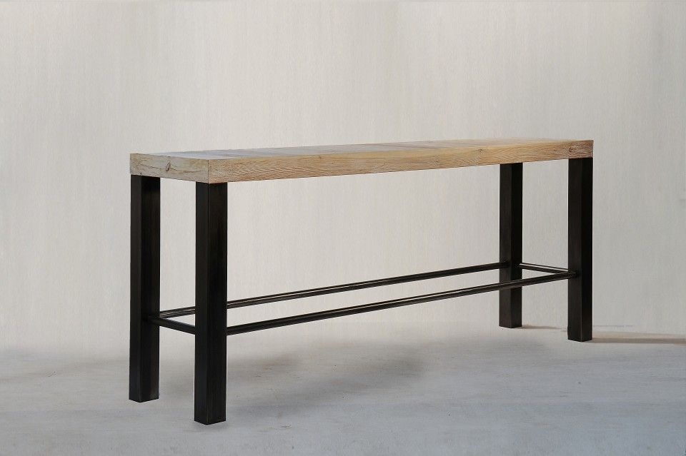 table haute console lounge table