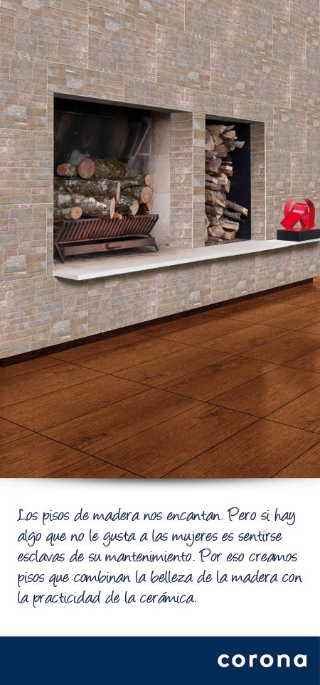 Pisos tipo madera sin talar rboles c lido y elegante for Pisos ceramicos