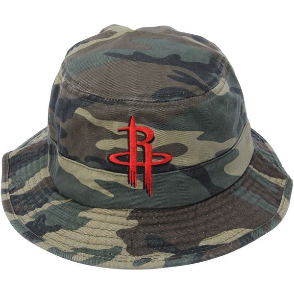 7d373d711cae3 Houston Rockets adidas Camo Bucket Hat - Green -  25.99