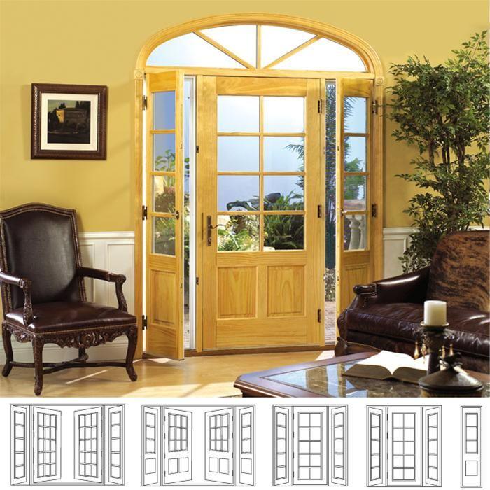 Door Options, French, Venting Sidelites, Folding, Sliding ...