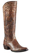 Ariat® Sahara™ Women's Sassy Brown Snip Toe Tall Boots