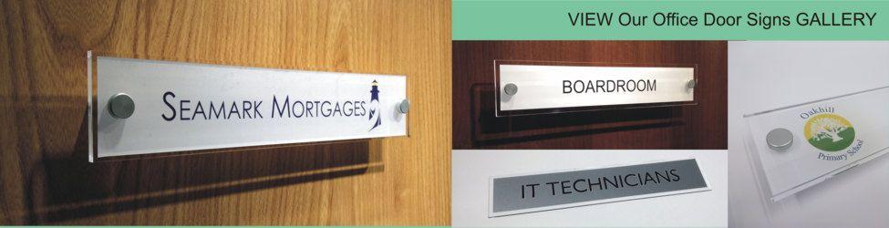 Interior Office Door Signs By De Signage Office Door Signs