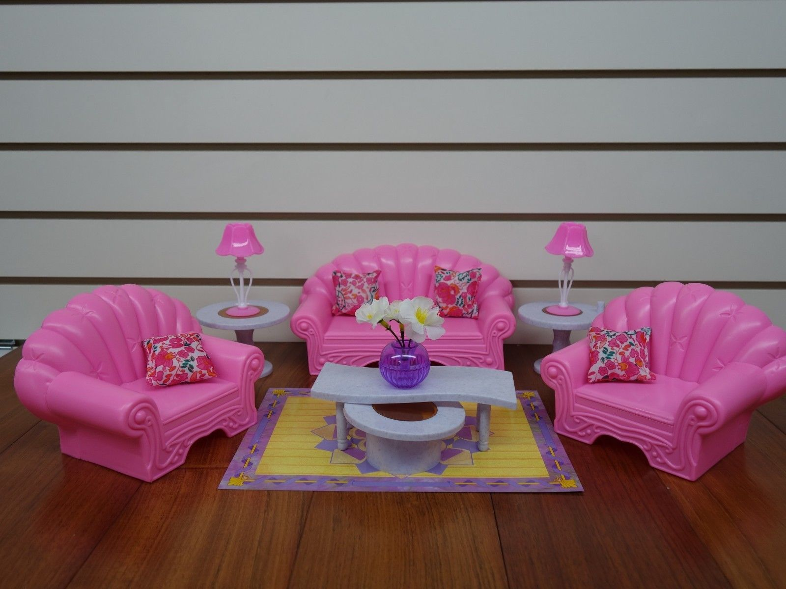 Gloria Barbie Doll House Furniture 22004 My Fancy Life Living Room