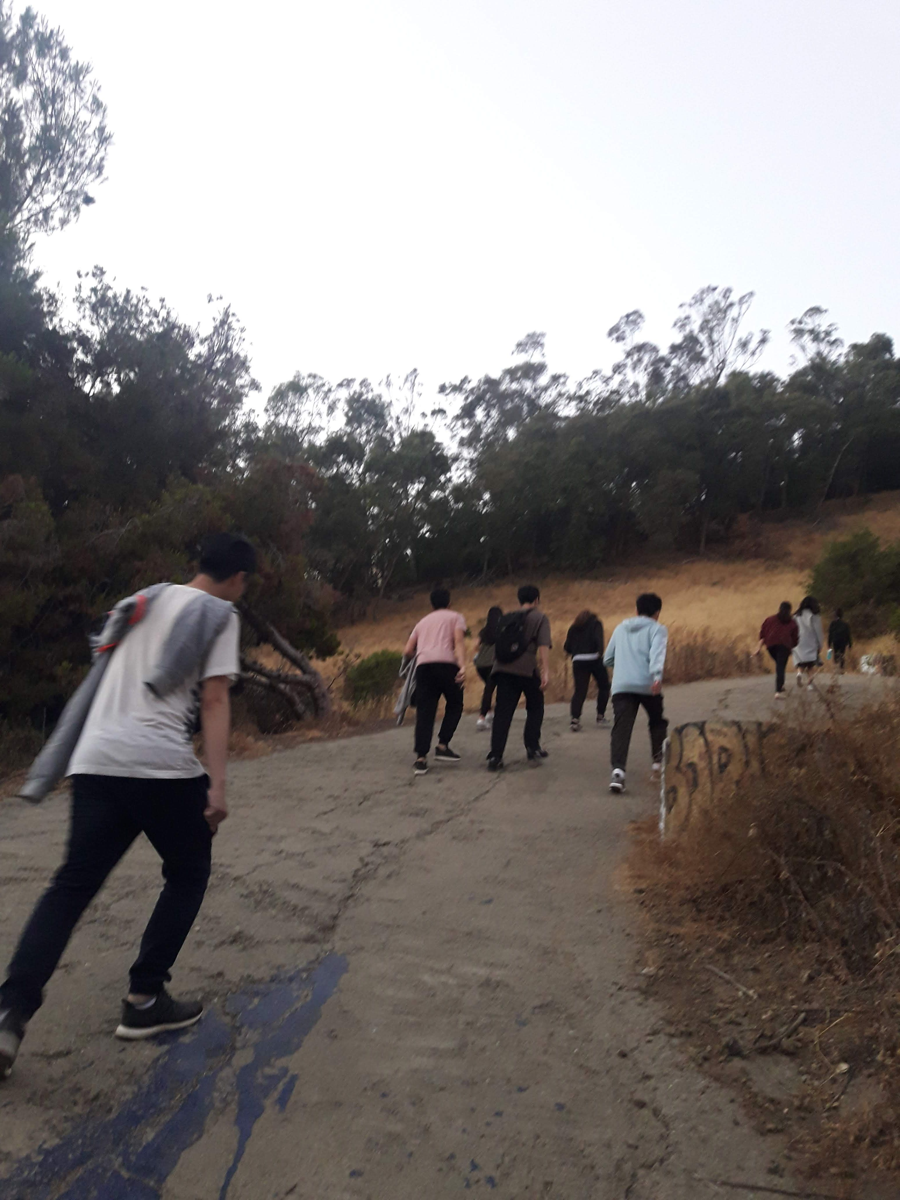 Why is hiking the Big C a tradition in Berkeley? During every