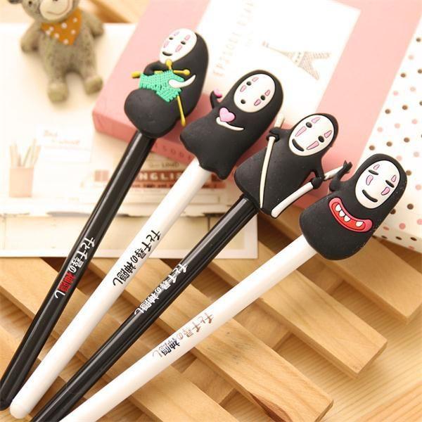 Japanese Spirited Away Cute ghost pen Caneta ballpen gift 8PCS/lot kawaii stationery Office