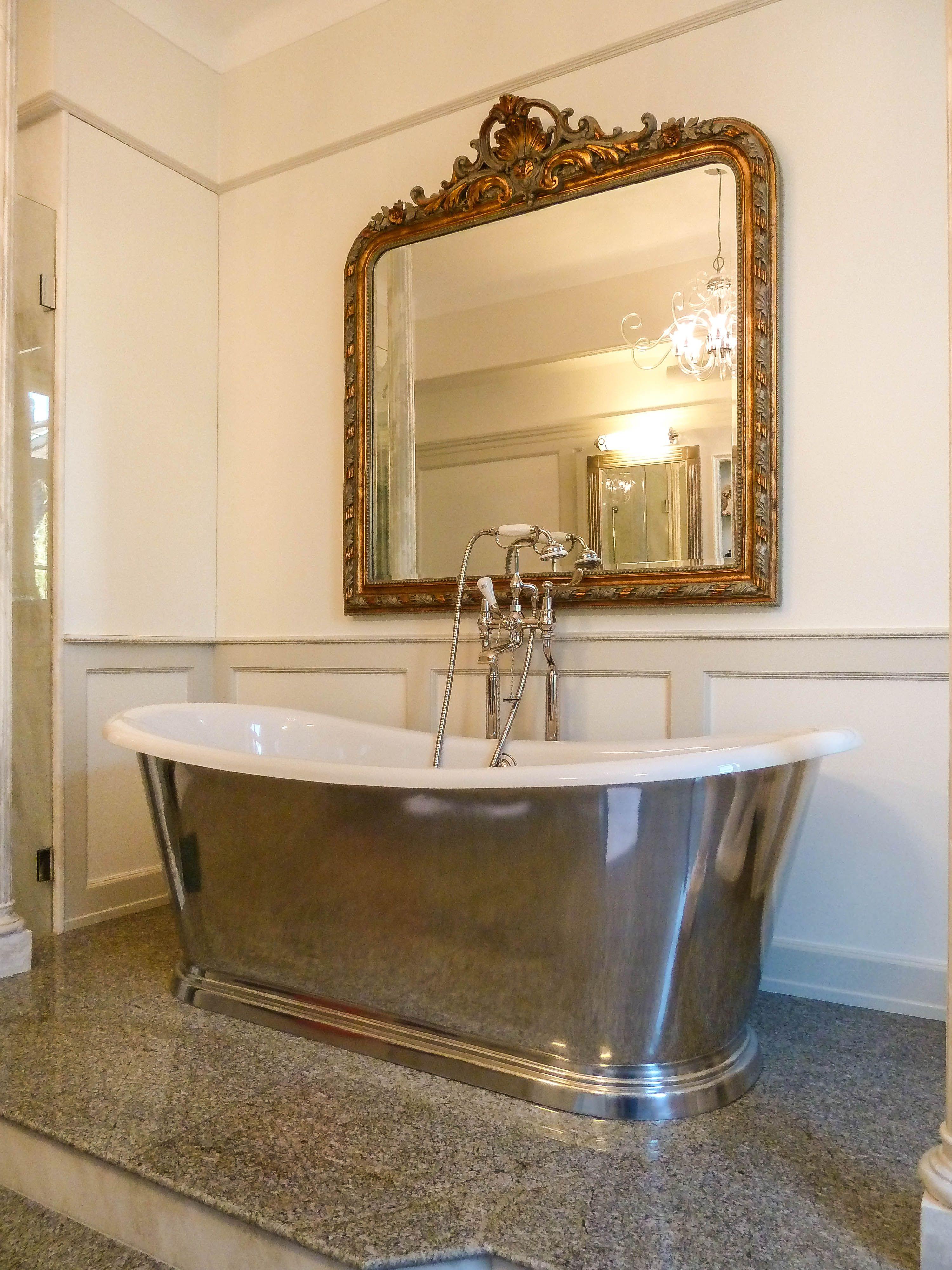Zeitlos Schones Baddesign Im Klassischen Stil Denn Das Auge