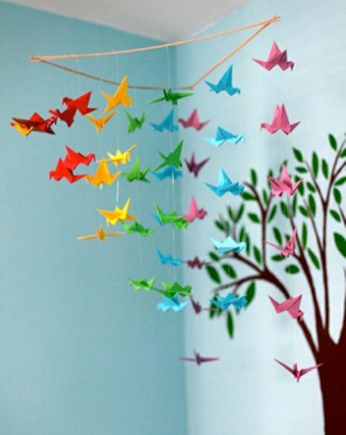 Kinderzimmer Deko - Mobilé für wickelkomode | Kinderzimmer ... | {Dekoration für kinderzimmer 43}