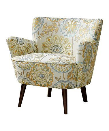 Another Great Find On Zulily Floral Accent Chair Zulilyfinds