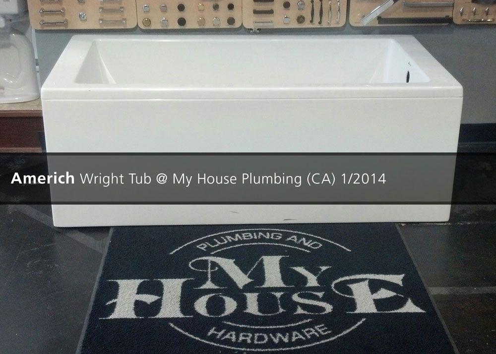 Americh Wright Tub My House Plumbing Ca 2014 Tub Plumbing