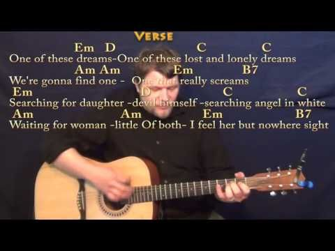 One Of These Nights Eagles Strum Guitar Cover Lesson With Chords