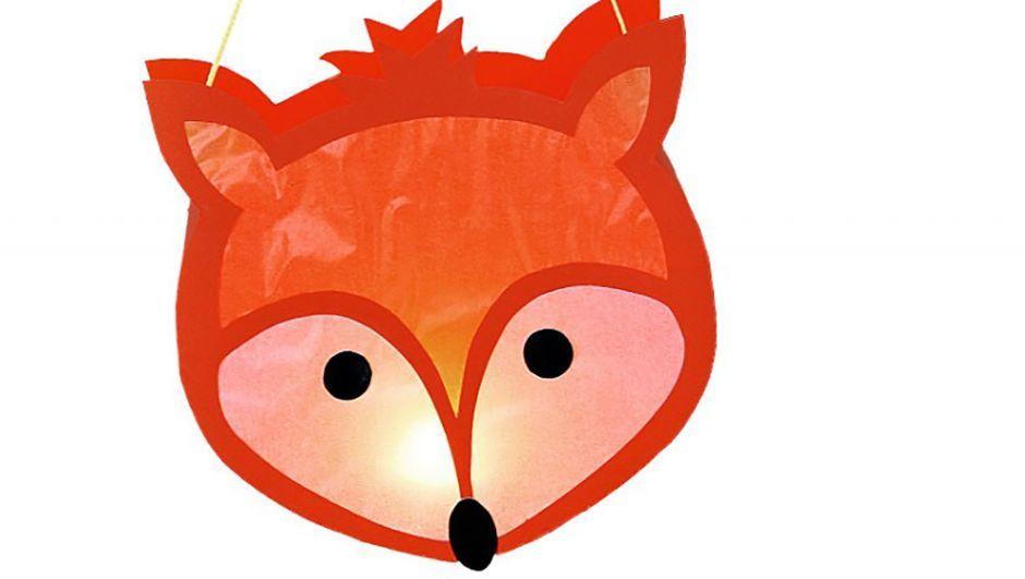 Wir Basteln Eine Fuchs Laterne Laternen Basteln Laterne Basteln Vorlagen Laterne Basteln Anleitung