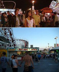 Then & Now Movie Locations: The Lost Boys...Santa Cruz. Lost Boys movie tour!!!