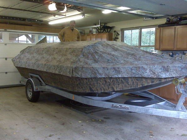 Willie Boats Boat Blind (lots-o-pics) - www.ifish.net | duck hunting ...