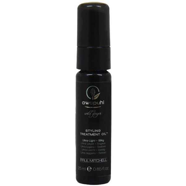 Paul Mitchell Awapuhi Wild Ginger Styling 0.85-ounce Treatment Oil ($11) ❤ liked on Polyvore featuring beauty products, haircare, paul mitchell and paul mitchell hair care