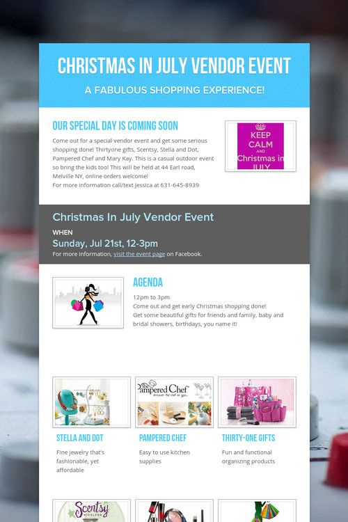 Christmas In July Ideas Pinterest.Christmas In July Vendor Event Thirty One Ideas