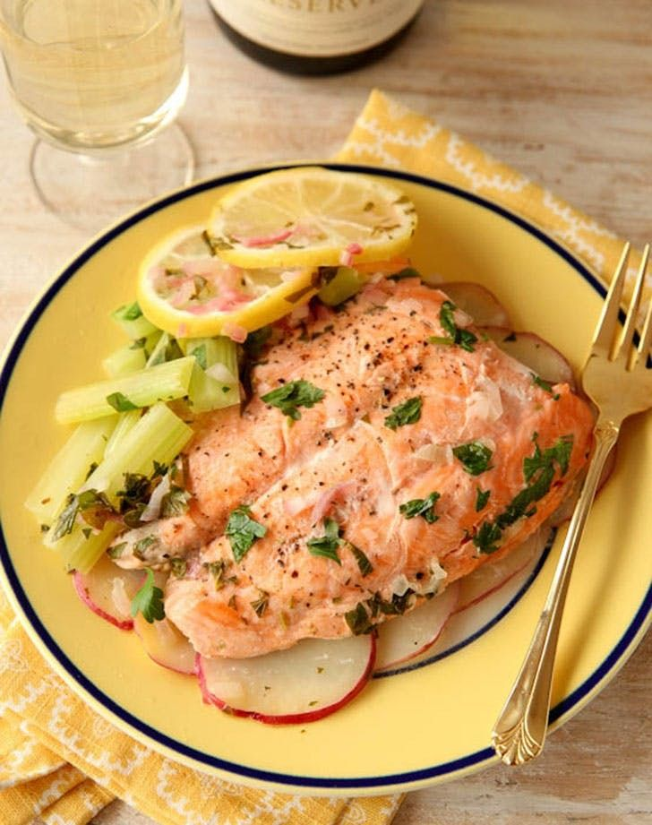 31 No Oven Dinners To Cook Every Night In July Microwave Salmon